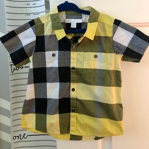 Burberry toddler shirt NEW